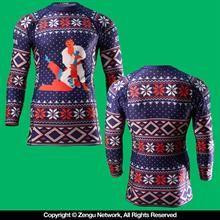 "93 Brand ""Ugly Sweater"" Rashguard"